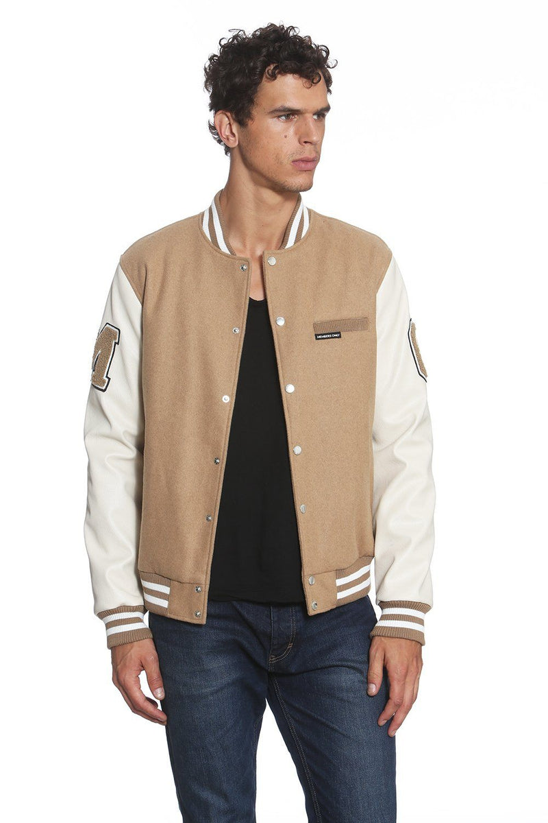 Men's MO Varsity Jacket - Members Only Official