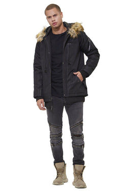 Men's Oxford Snorkel Parka Jacket - Members Only Official
