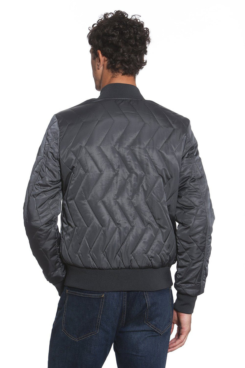 Men's Ozone Bomber Jacket - Members Only Official