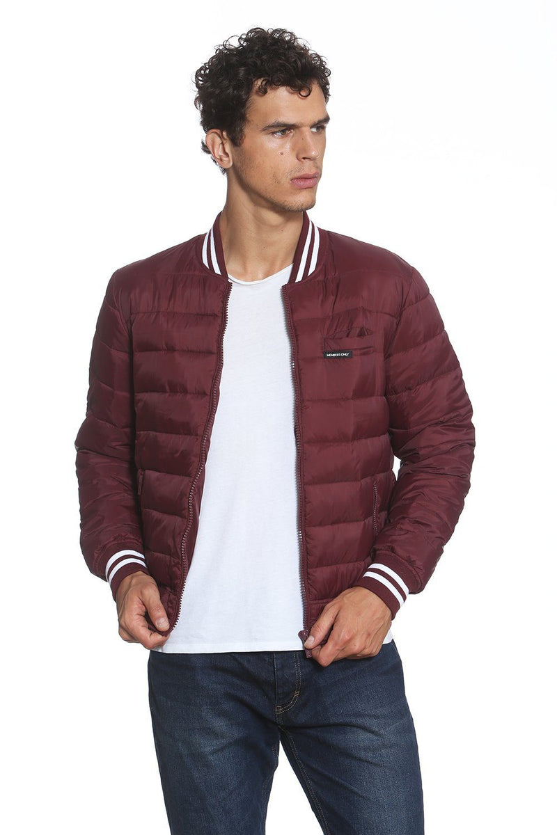 Men's Varsity Puffer Jacket - Members Only Official