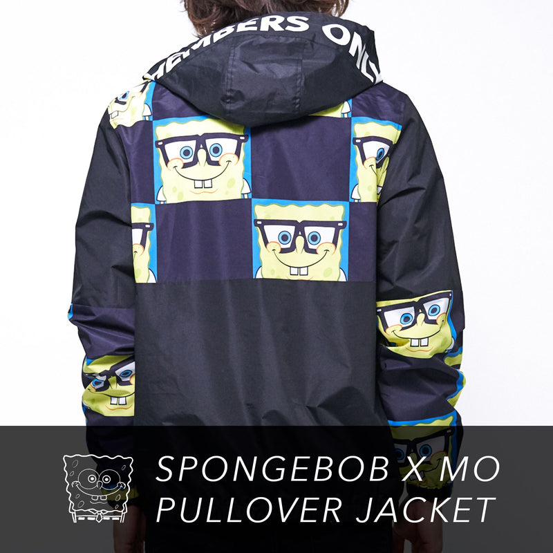 Clearance - Mens Nickelodeon Sponge Bob Pullover Jacket
