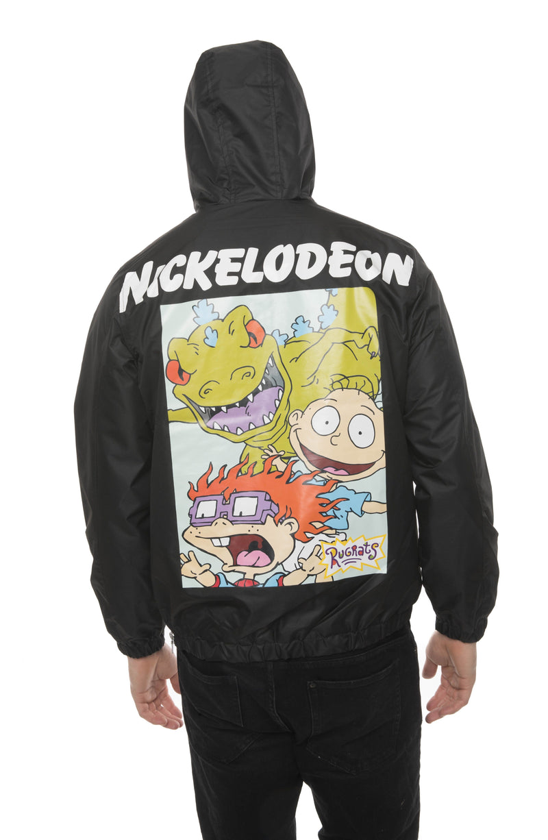 Men's Nickelodeon Collab Popover Jacket Back