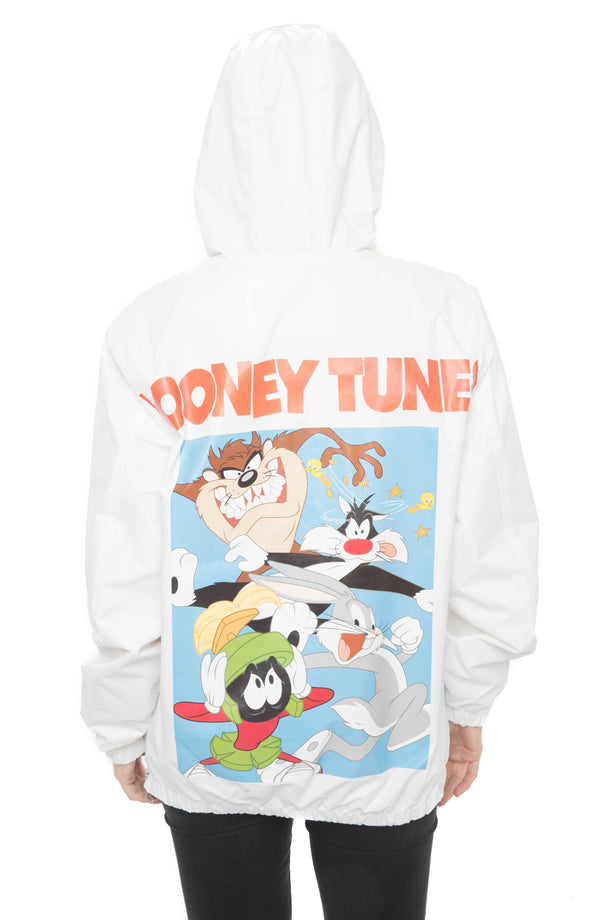 Mens Looney Tunes Collab Popover Jacket For Women