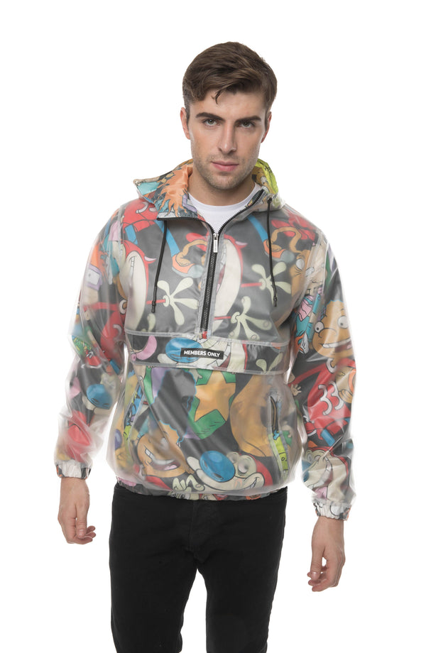 Translucent Nickelodeon Collab Popover Jacket for men