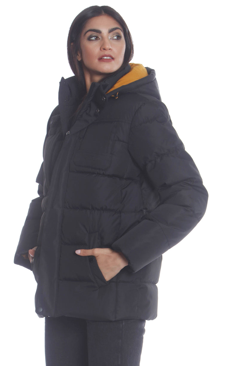 Men's Utility Puffer Jacket For Women Unisex Members Only Official