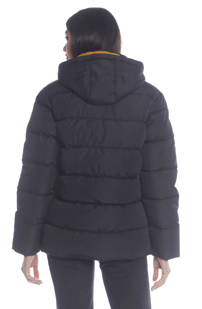 Men's Utility Puffer Jacket For Women Unisex Members Only