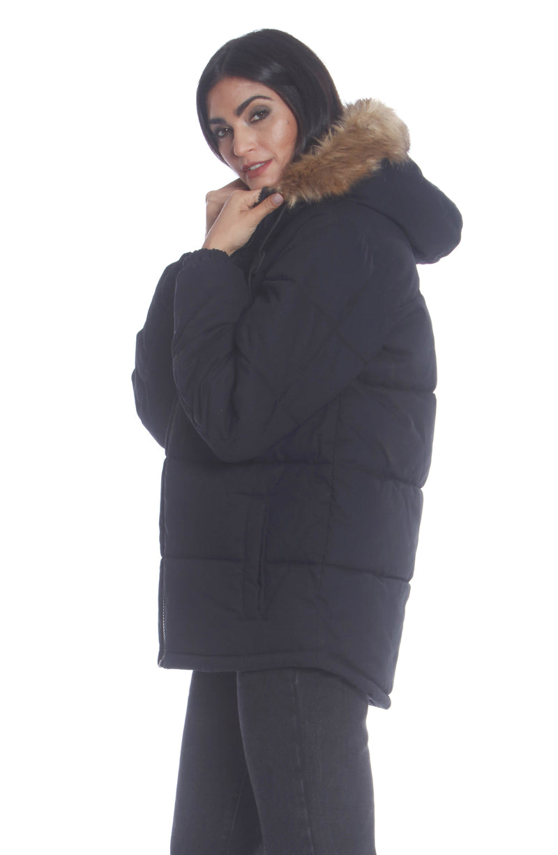 Shop Men's Cotton Puffer Jacket For Women Unisex Members Only