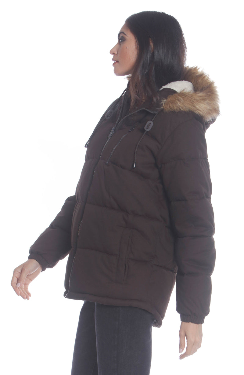 Men's Cotton Puffer Jacket For Women Unisex Members Only Official