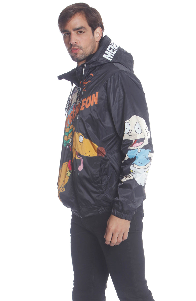 Buy Men's Nickelodeon Rugrats Placement Jacket Unisex Members Only