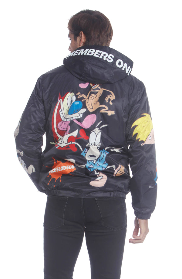 Men's Nickelodeon Rugrats Placement Jacket Unisex Members Only