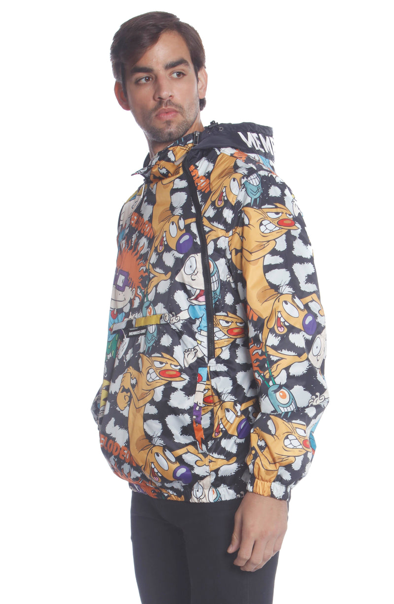 Men's Nickelodeon Mash Popover Jacket Unisex