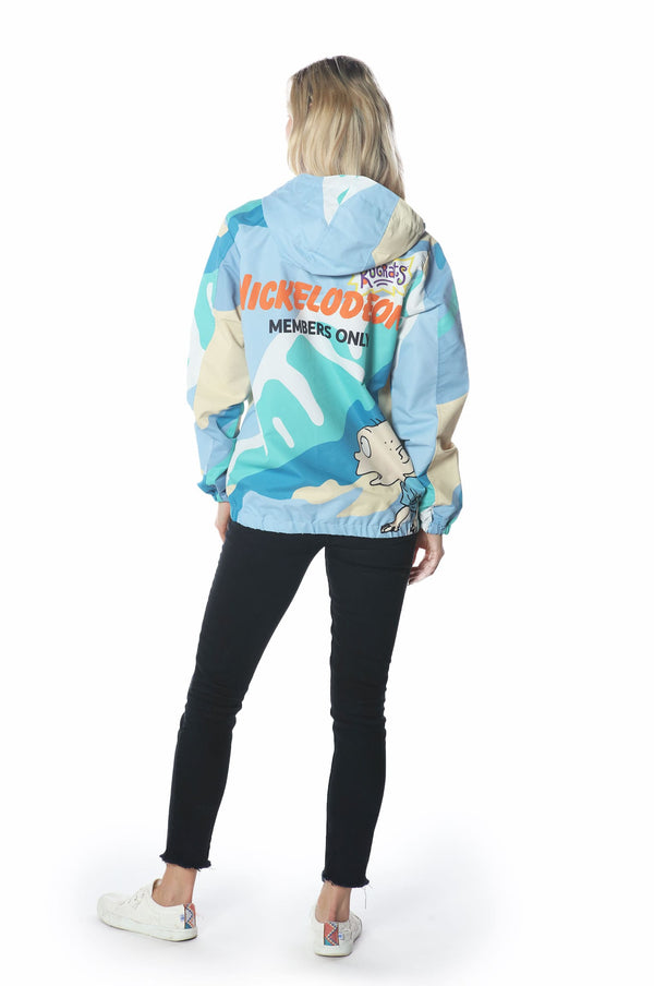 Men's Big Chucky Windbreaker Jacket for Women jacket Members Only Official