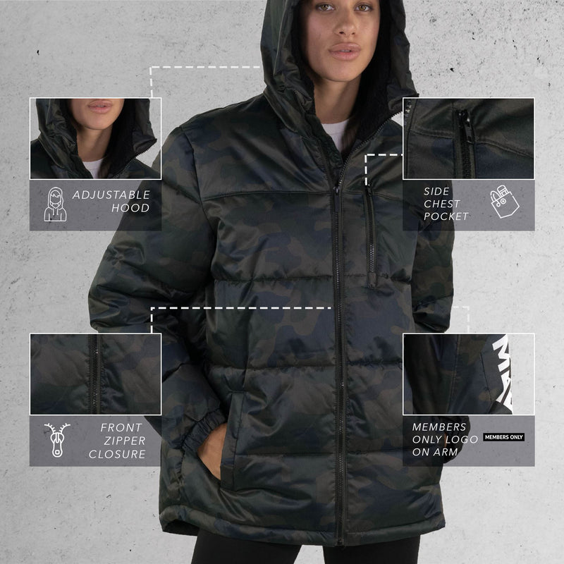 Buy Hooded Puffer Jackets