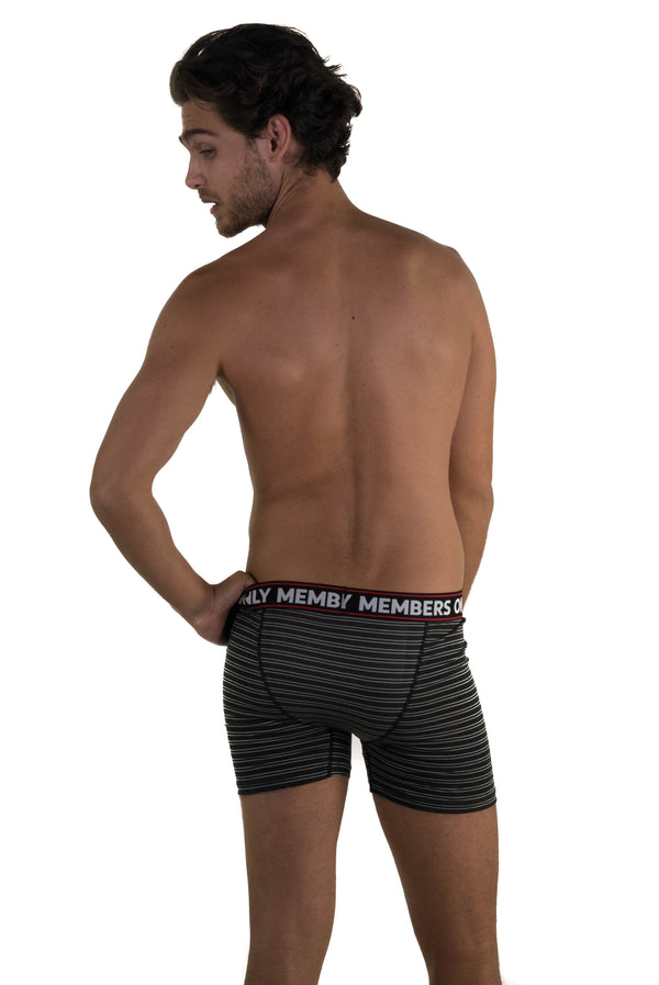 3 Pack Athletic Stripe Boxer Briefs