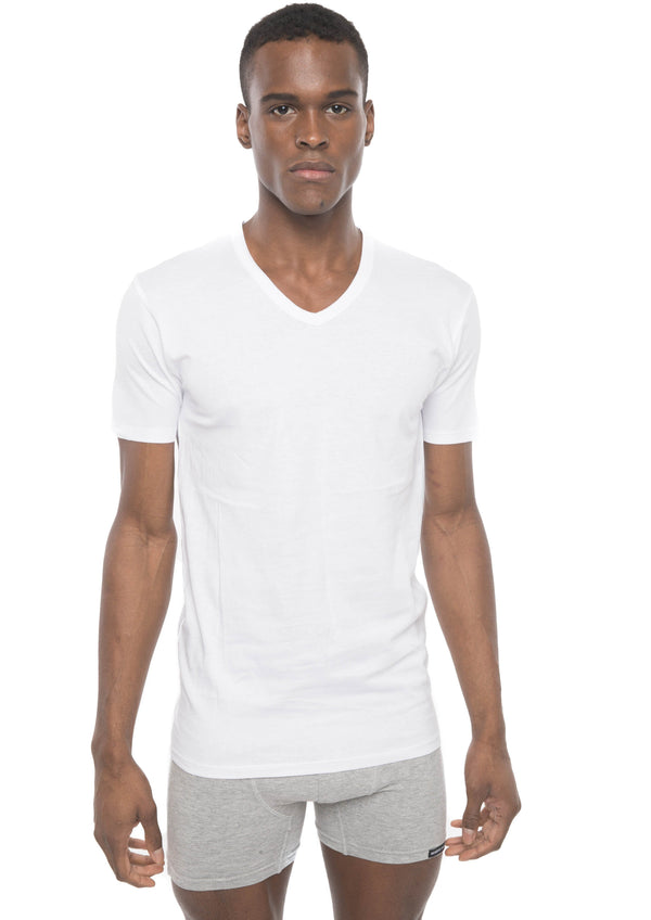 Members Only Men's Cotton V-Neck T-Shirt
