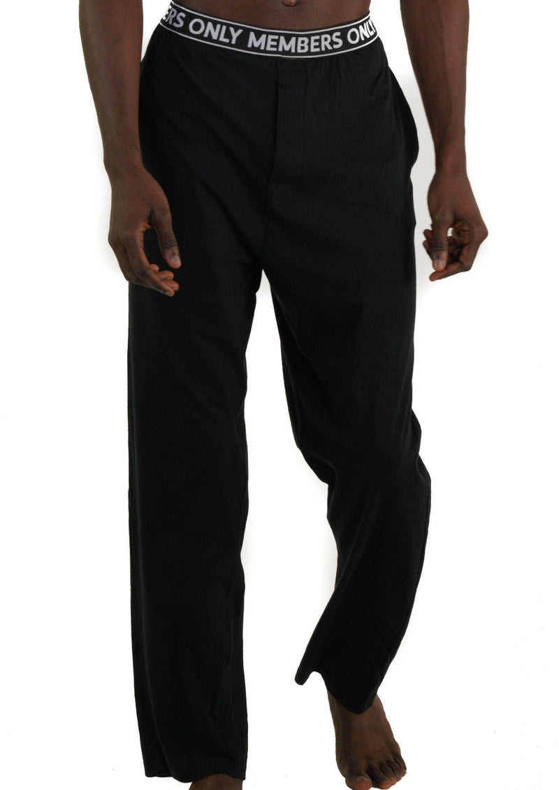 Men's Jersey Sleep Pant Logo Elastic