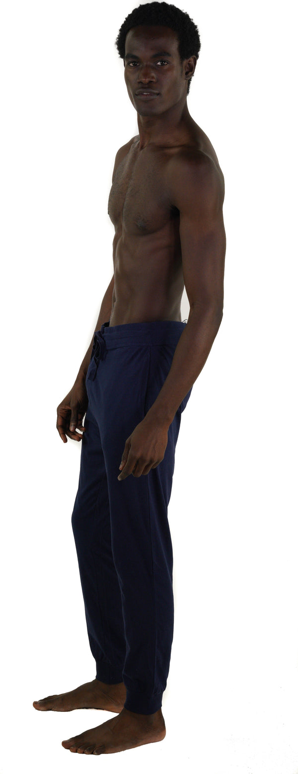 Men's Jersey Jogger Lounge Pants - Navy Sleepwear Pants Members Only