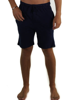 Men's Jersey Sleep Shorts - Navy Sleepwear Pants Members Only Navy SMALL