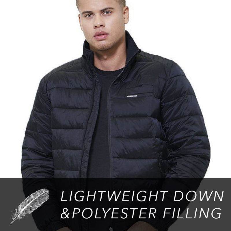 Men's Moto Puffer Jacket