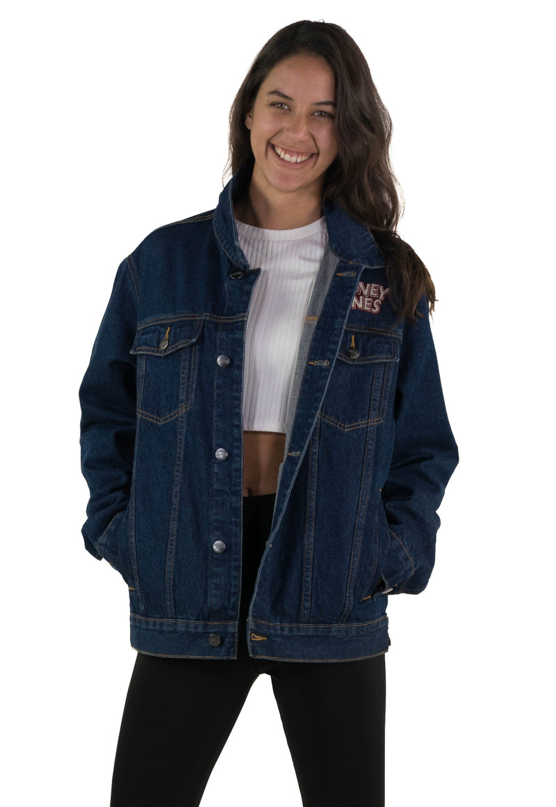 Men's Looney Tunes Denim Trucker Jacket for Women
