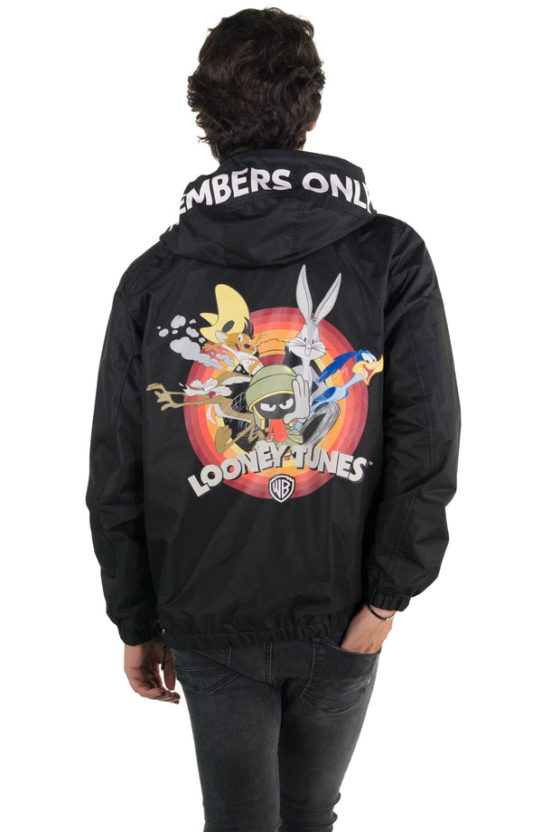Men's Looney Tunes Popover Jacket Back