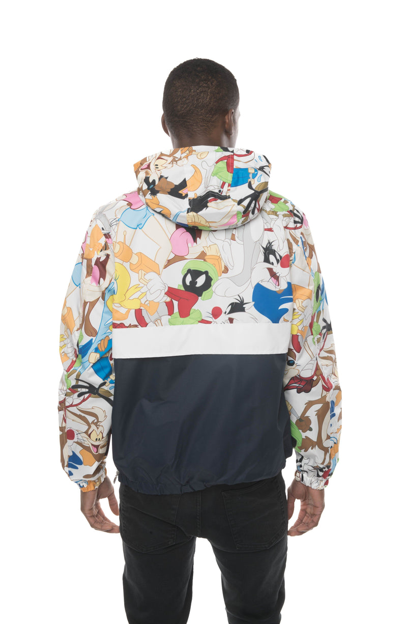 Members Only Looney Tunes Collab Popover Jacket for Men