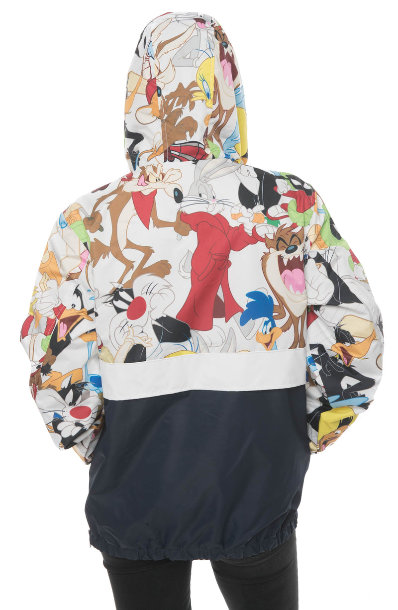 Men Looney Tunes Collab Popover Jacket For Women