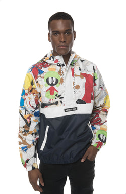 Men's Looney Tunes Collab Popover Jacket