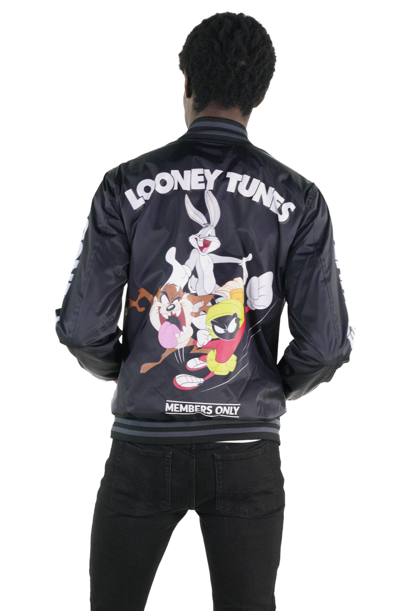Men's Looney Tunes Bomber Jacket Back
