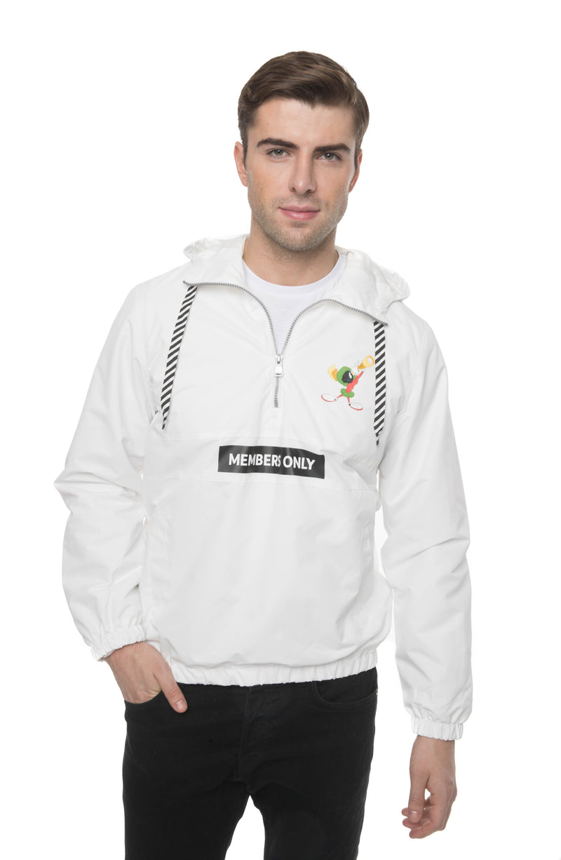 Mens Looney Tunes Collab Popover Jacket