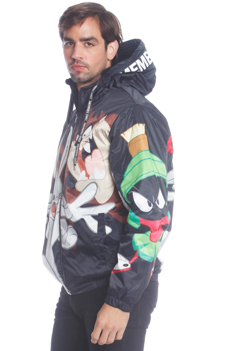 Buy Men's Looney Tunes Bugs Placement Jacket Unisex Members Only
