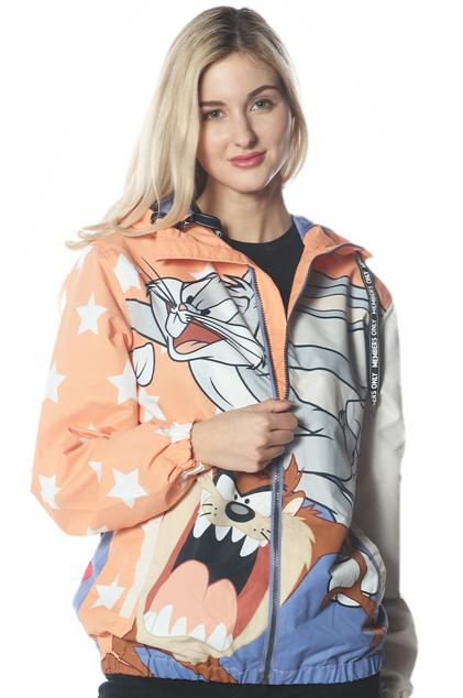 Men's Big Bugs Windbreaker Jacket for Women jacket Members Only Official