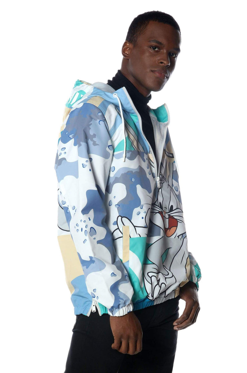 Men's Bugs Patchwork Windbreaker Jacket jacket Members Only Official