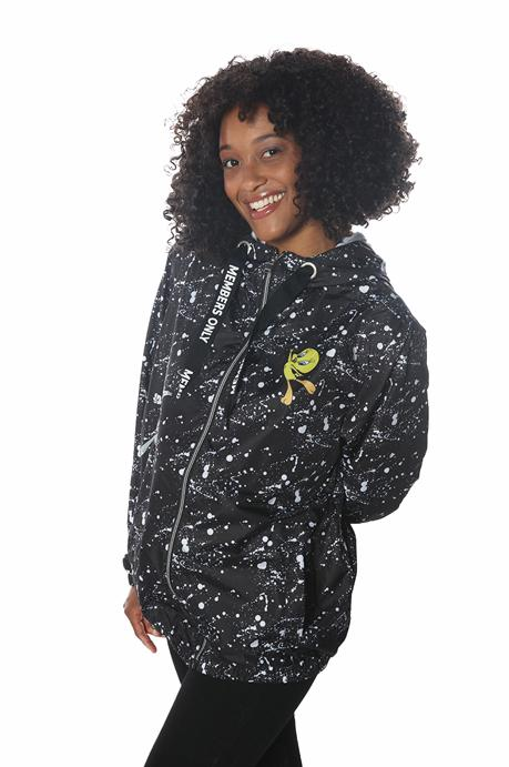 Women's Looney Tunes Full Zip Jacket jacket Members Only Official