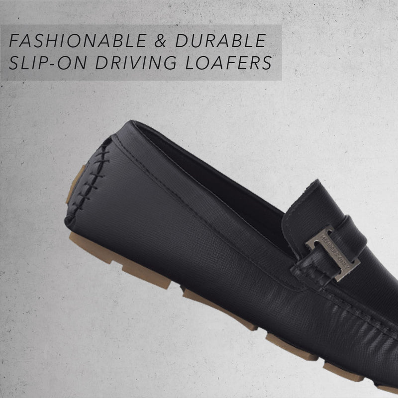 Men's Faux Leather Driving Shoes