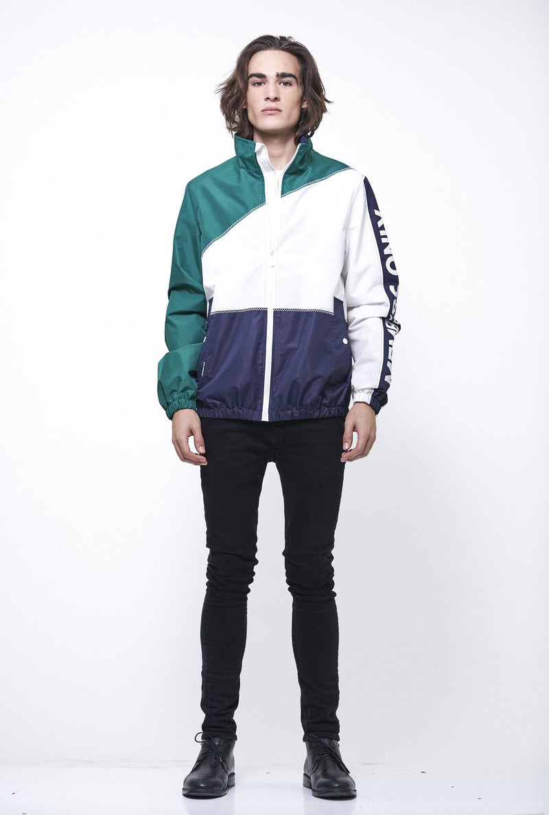 Men's Nautical Color Block Jacket Members  Only
