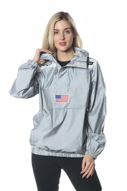 Men's Reflective Windbreaker Jacket for Women jacket Members Only Official REFLECTIVE Small