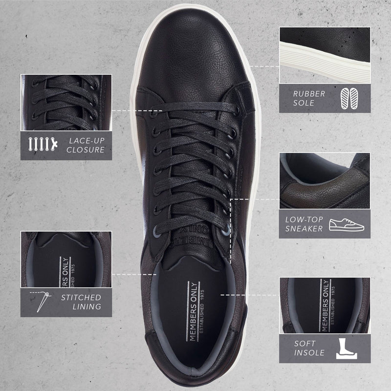 Members Only Men Court Sneakers
