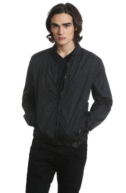 Men's Packable Jacket Windbreaker jacket Members Only Official Black Small