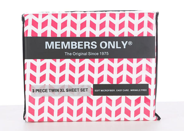 Members Only Chevron Micro-Fiber Sheet Set - Members Onlyå¨ Official