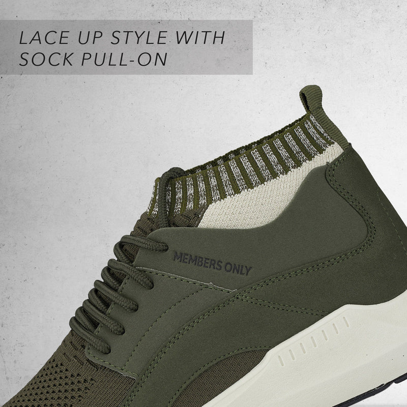 Men's Knit Sock Mesh Fashion Sneaker