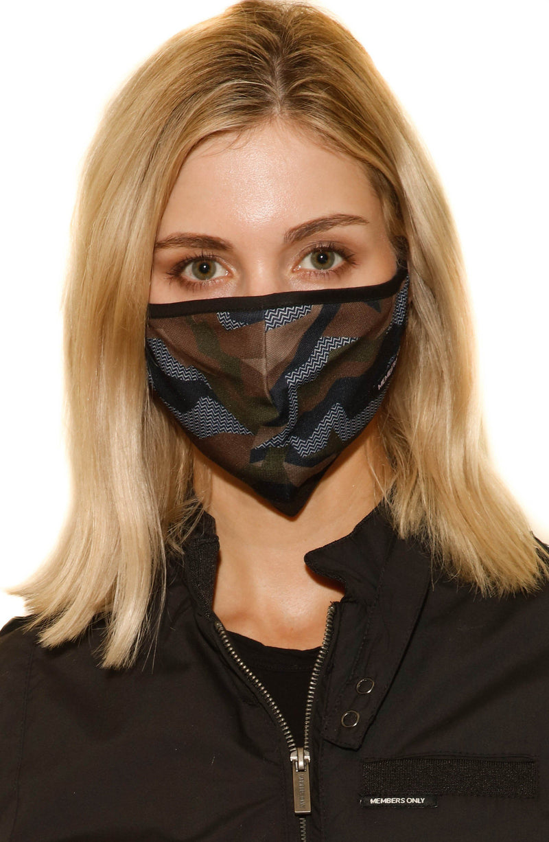 Members Only Cloth Face Masks 3 Pack - Camouflage Masks Members Only® Official