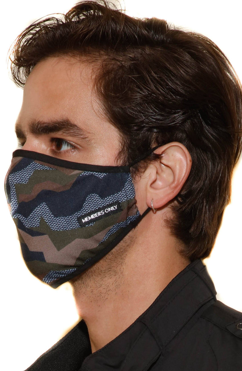 Members Only Cloth Face Masks Masks Members Only® Official Camouflage ONE SIZE FITS ALL