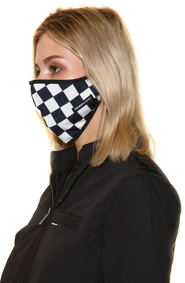 Members Only Cloth Face Masks 3 Pack - CHECKERED masks Members Only® Official