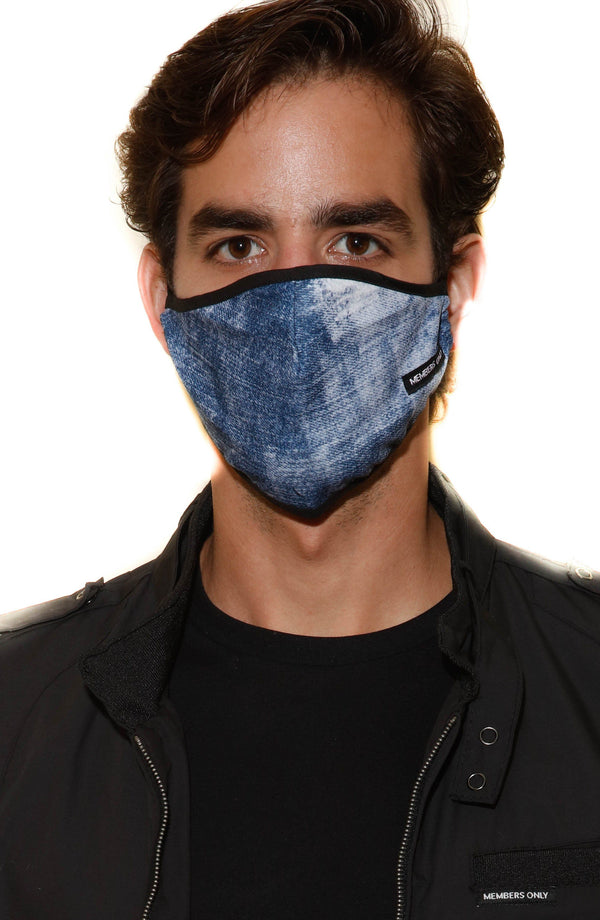 Members Only Cloth Face Masks 3 Pack - INDIGO masks Members Only® Official