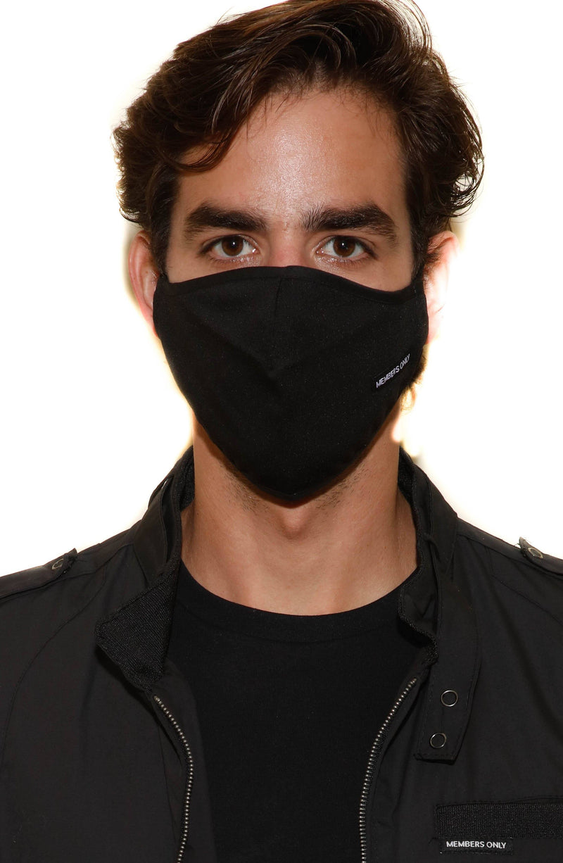 Members Only Cloth Face Masks masks Members Only® Official BLACK ONE SIZE FITS ALL