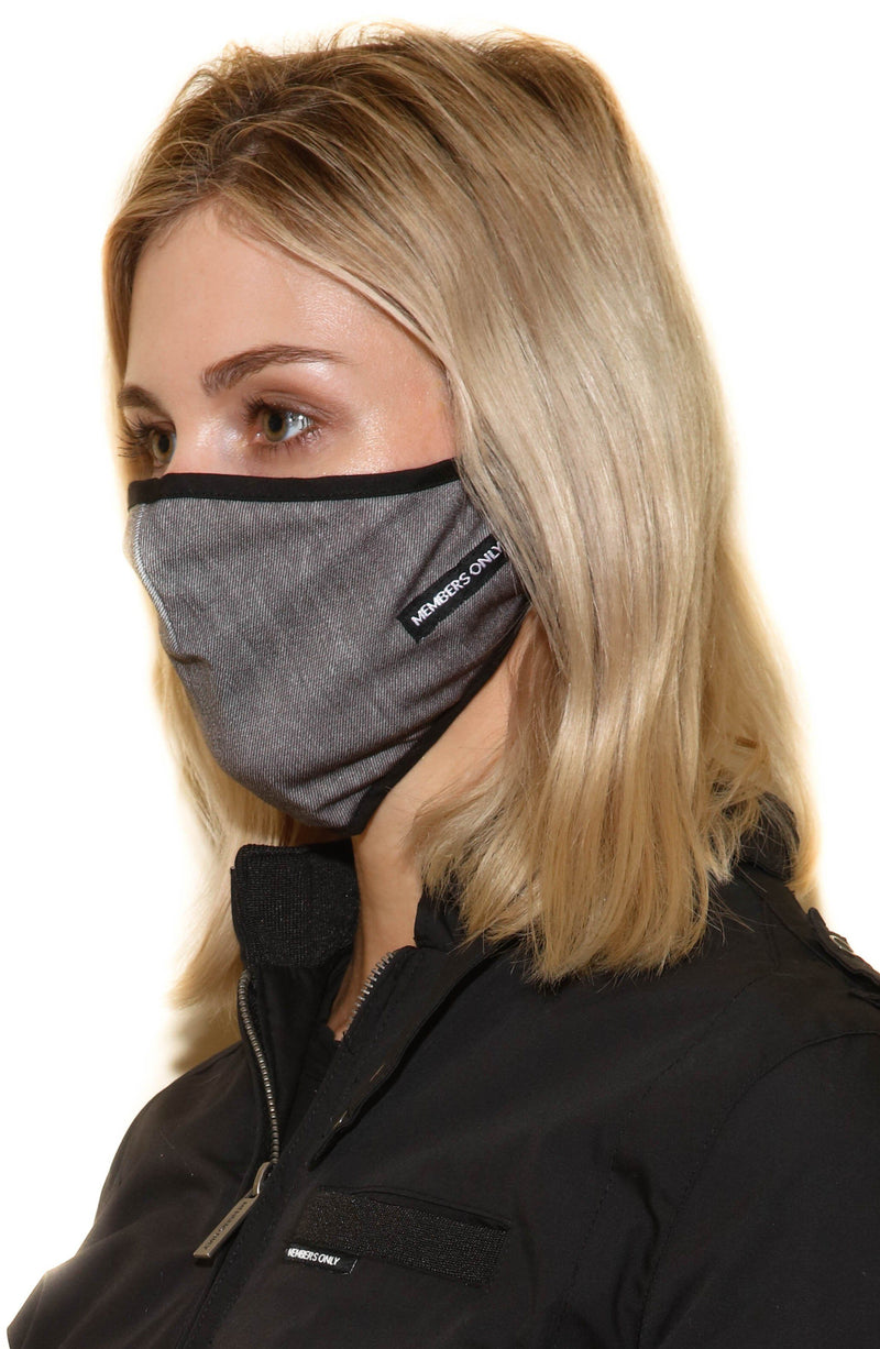 Members Only Cloth Face Masks 3 Pack - CHARCOAL Members Only® Official