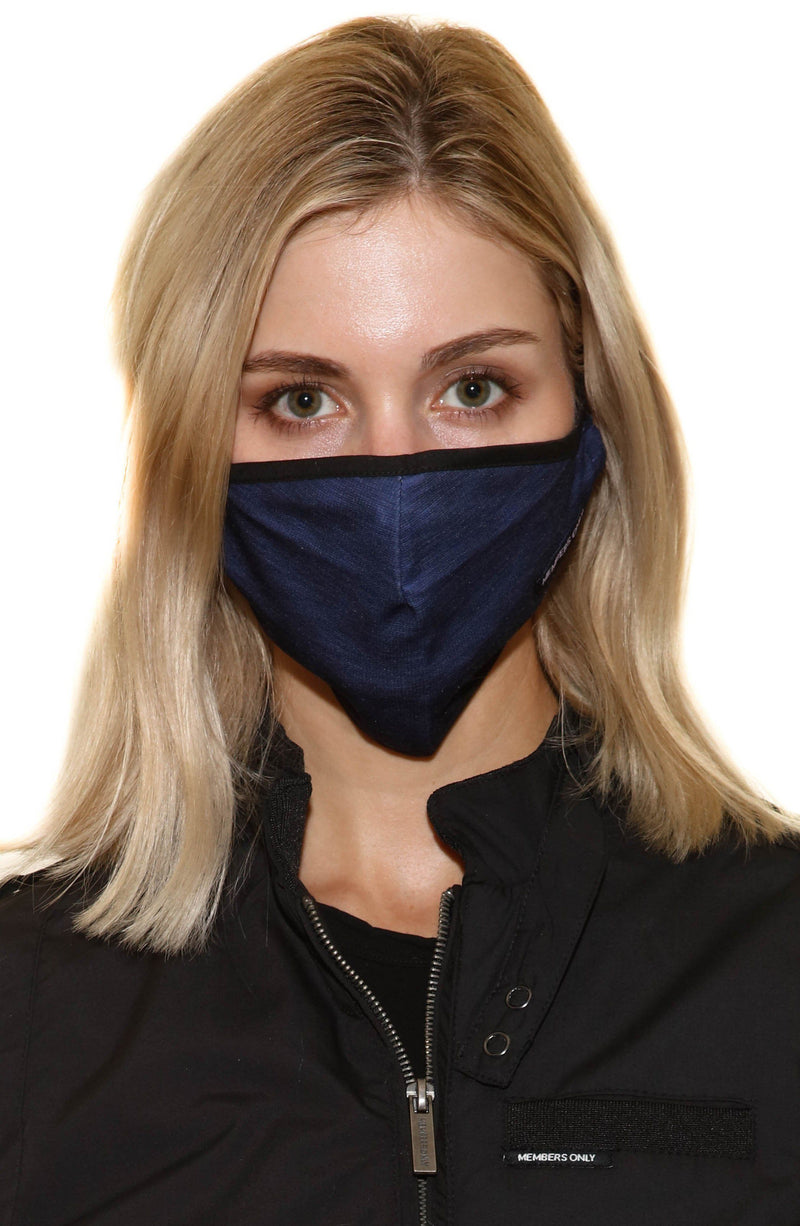 Members Only Cloth Face Masks 3 Pack - NAVY Members Only® Official