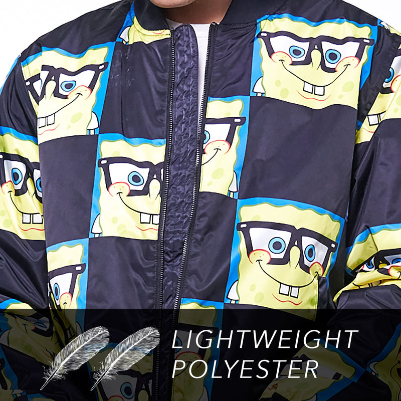 Members Only Men's Nickelodeon Spongebob Bomber Jacket