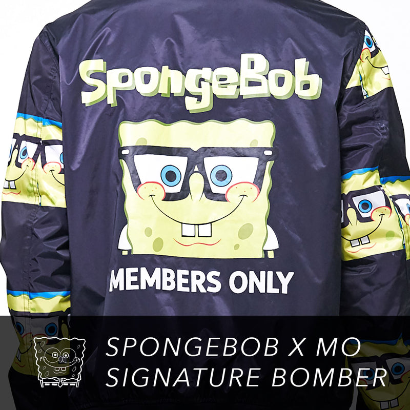 Men's Nickelodeon Spongebob Bomber Jacket
